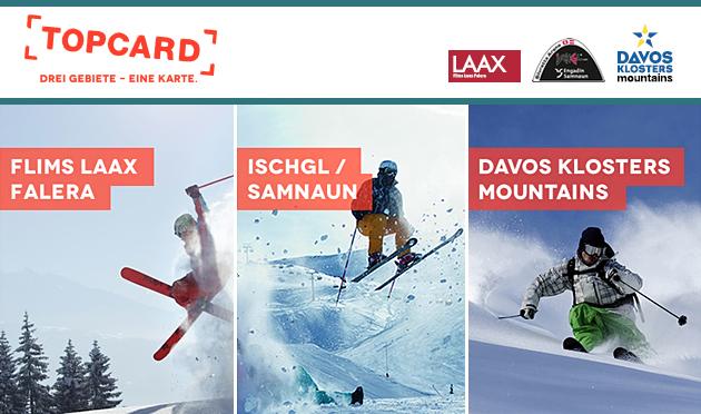 Ischgl-Laax-Davos TOPCARD