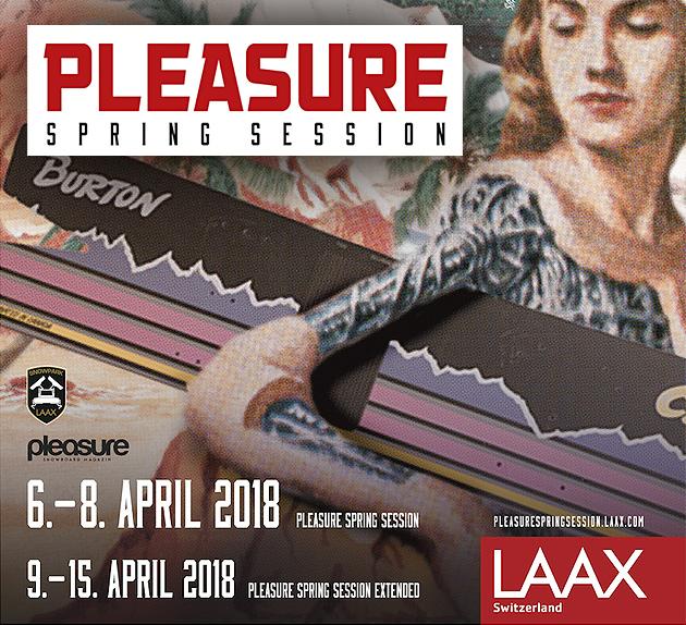 pleasure spring session 2018