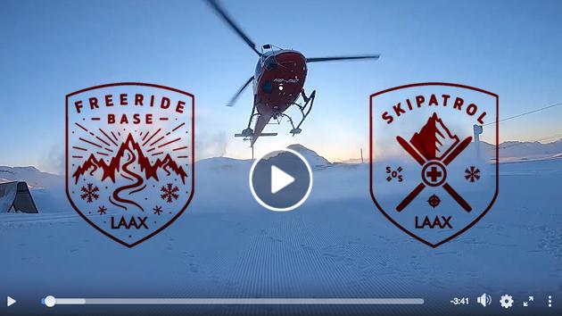 Lawinenrettung Laax - ski patrol